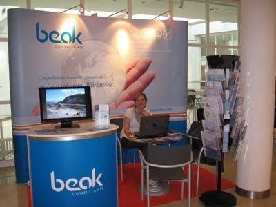 The Beak exhibition booth 1