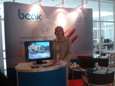 The Beak exhibition booth 2