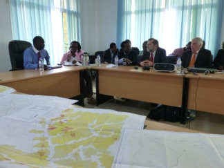 Presentation of fieldwork results in Kigali